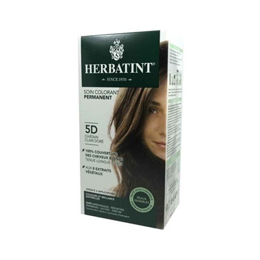 Herbatint Saç Boyası 5D Chatain Clair Dore - Light Golden Chestnut Kahve